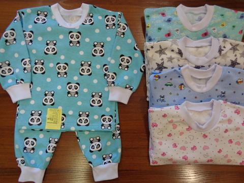 Пижама д/детей цветная  (футер)