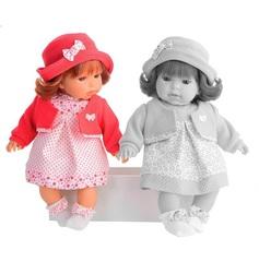 Munecas Antonio Juan Озвученая кукла Памела в красном, 37 см (1555R)