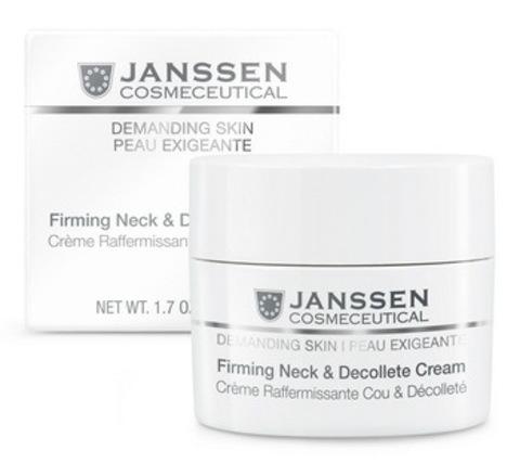 Укрепляющий крем для кожи лица, шеи и декольте Janssen Firming Face, Neck & Decollete Cream,150 мл.