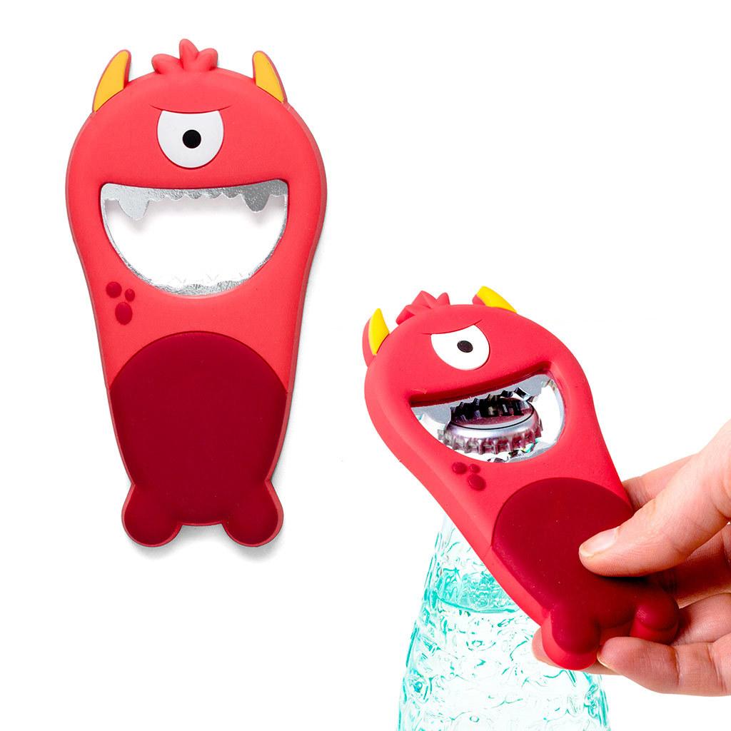 Открывалка Monster красная магнитная открывалка monster бирюзовая магнитная