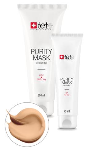 Себорегулирующая очищающая маска с цинком и красной глиной / Purity Mask Oil Control Zinc and Red Clay