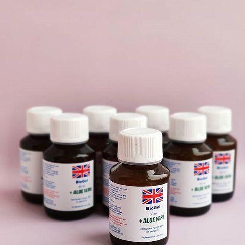 Биогель для педикюра Derma Pharms UK Aloe Vera (Алоэ Вера) 60 мл.