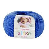 Пряжа Alize Baby Wool василек 141