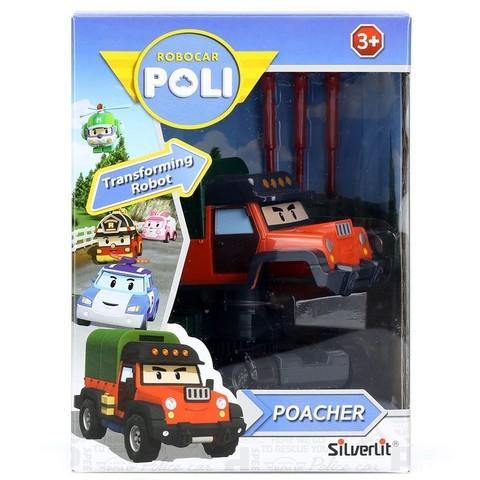 Robocar Poli Почер трансформер 10 см (Робокар Поли) Silverlit 83360