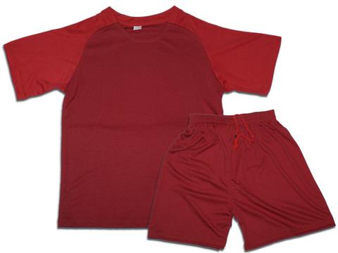 Форма футбольная. Цвет красный. Размер 52. Материал: полиэстер. F-СН-52# EU-46#