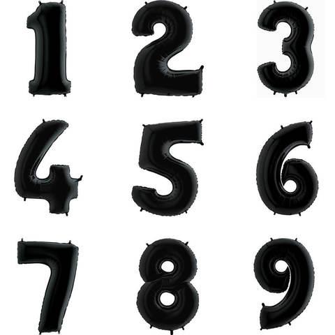 Цифры Чёрные