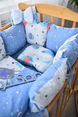 Комплект постельного белья Облачко Синий