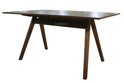 Обеденный стол Sundays HOME HARRY RT580-TBL, каучуковое дерево+шпон.мдф
