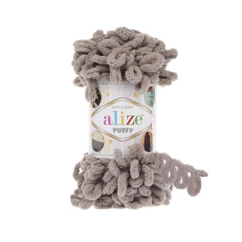 Купить Пряжа Alize Puffy Код цвета 268 Камень | Интернет-магазин пряжи «Пряха»