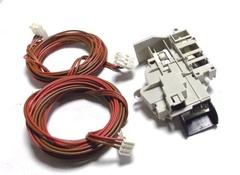 Блокировка люка в комплекте  с проводами ARISTON,INDESIT