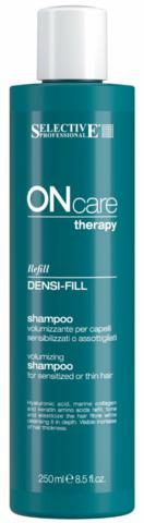 Шампунь филлер для ухода за поврежденными волосами,Selective Oncare Densify ,250 мл.