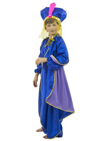 Костюм Восточный принц синий 3