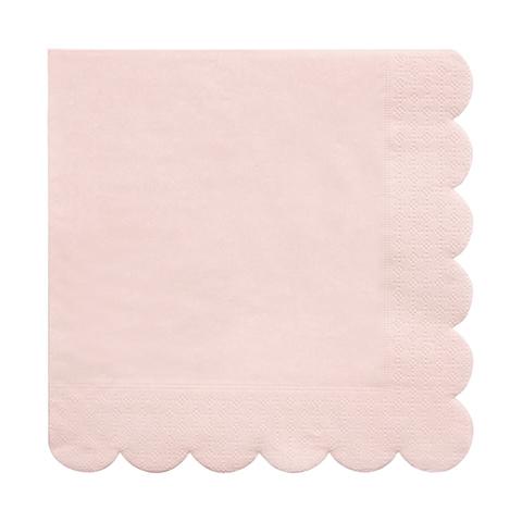 Салфетки светло-розовые