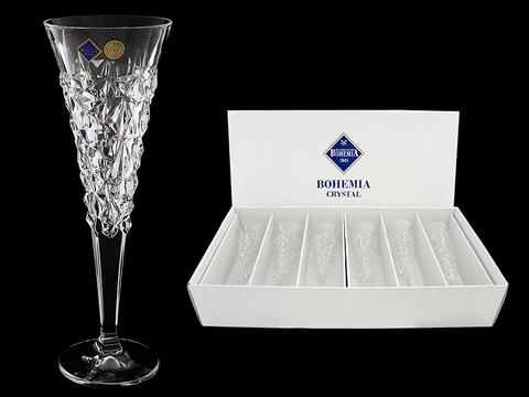 Набор хрустальных бокалов для шампанского «Glacier»