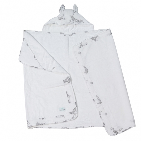 Полотенце с капюшоном 2+ Adam Stork Zebra Toddler 70 х 127 см.