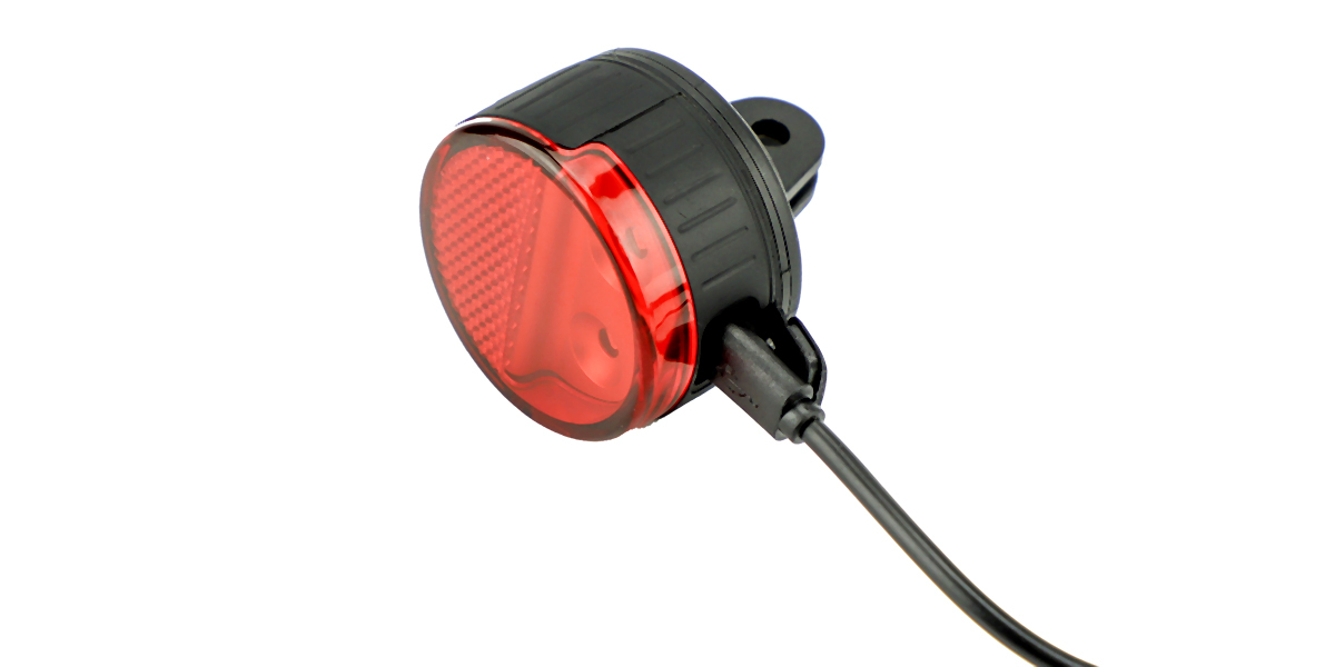 Фонарь SP Connect All - Round LED Safety Light Red с кабелем