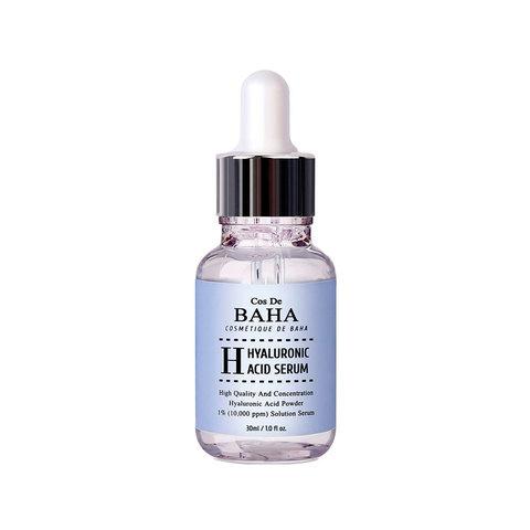 Увлажняющая сыворотка с гиалуроновой кислотой, 30/60 мл / Cos De Baha Hyaluronic Acid Serum