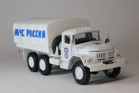 ZIL-131 Russian Ministry of Emergency with awning Elecon 1:43