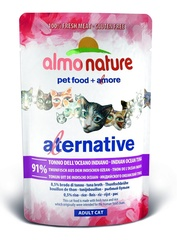 Паучи Almo Nature Alternative - Indian Ocean Tuna
