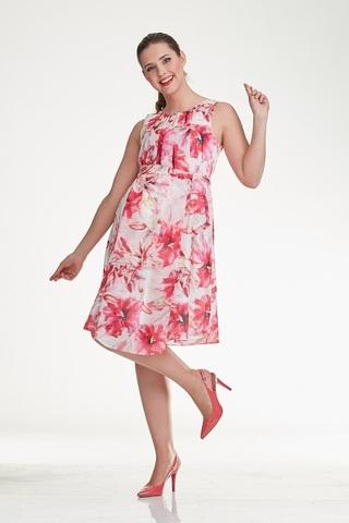 Платье для беременных 10284 цветочный принт