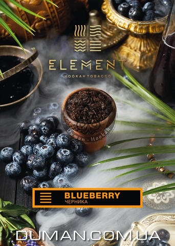 Табак Element Blueberry (Элемент Черника) |Ground 20г