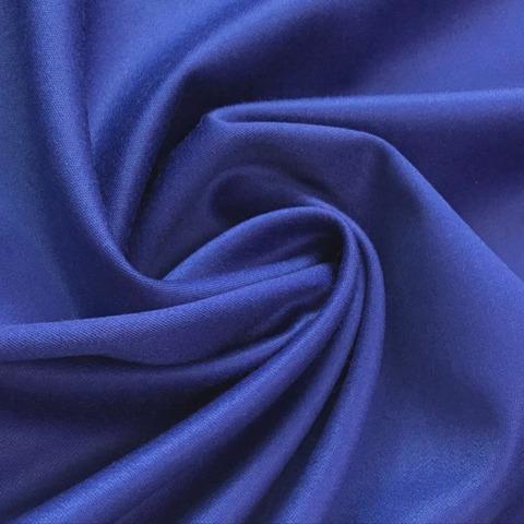 Ткань костюмно-плательная ткань цвет синий 3228
