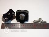 Крепление руля адаптер с 22мм на 28,6 чёрное