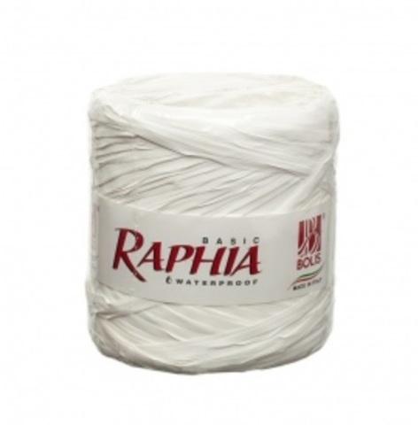 Рафия искусственная Италия 200 м Цвет: белый
