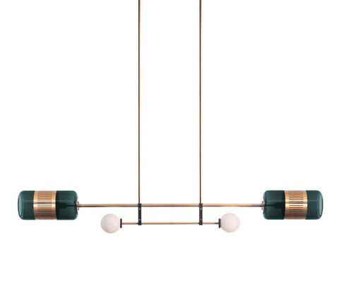 Подвесной светильник копия Lizak Short by Bert Frank (изумрудный)