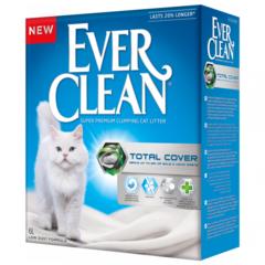 Ever Clean Total Cover комкующийся наполнитель с микрогранулами двойного действия д/кошек (6 л)