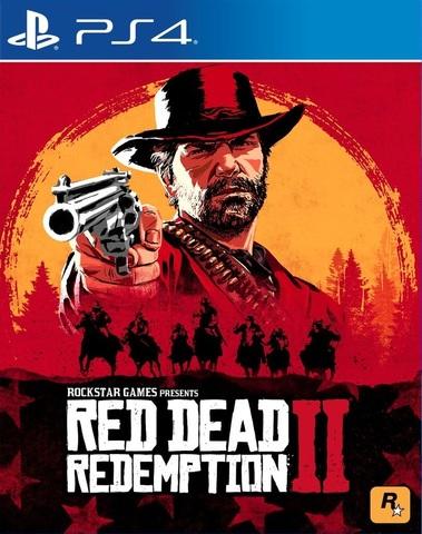 PS4 Red Dead Redemption 2 (русские субтитры)
