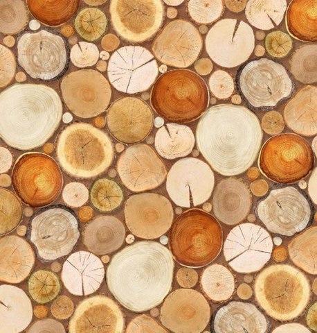 Деревянная мозаика 194x204 см, люкс