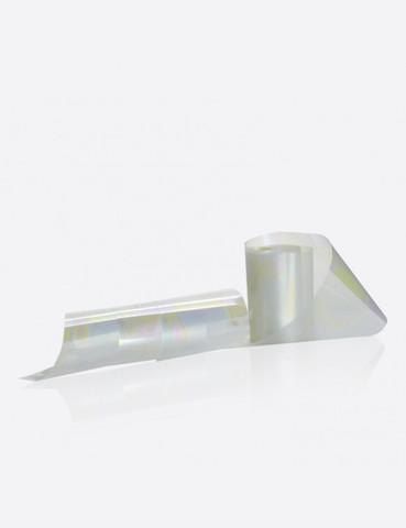 Фольга жемчужная с разводами 2,5см х 1м 191