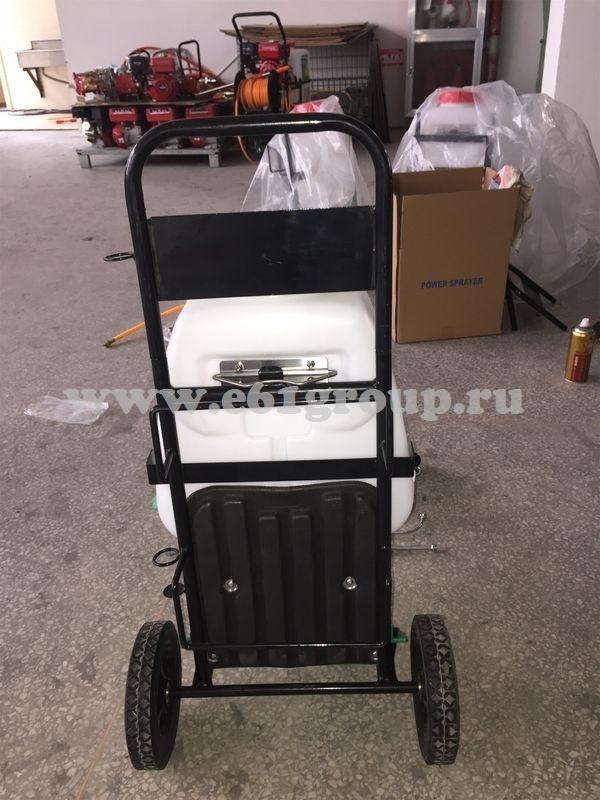 Опрыскиватель электрический на колесах Комфорт (Умница) YY-20SW с регулятором мощности интернет магазин