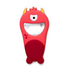 Открывалка Monster красная магнитная, фото 2