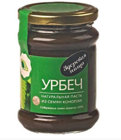 Урбеч из семян конопли 280 гр.