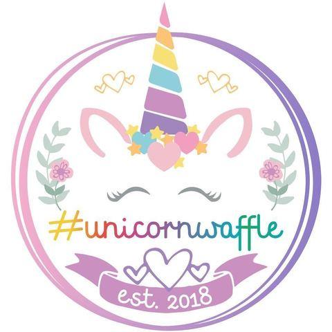 Логотип для пекарни вафлей Unicornwaffle