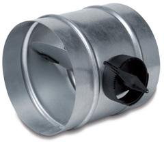 Дроссель-клапан SKR D150 с ручным управлением