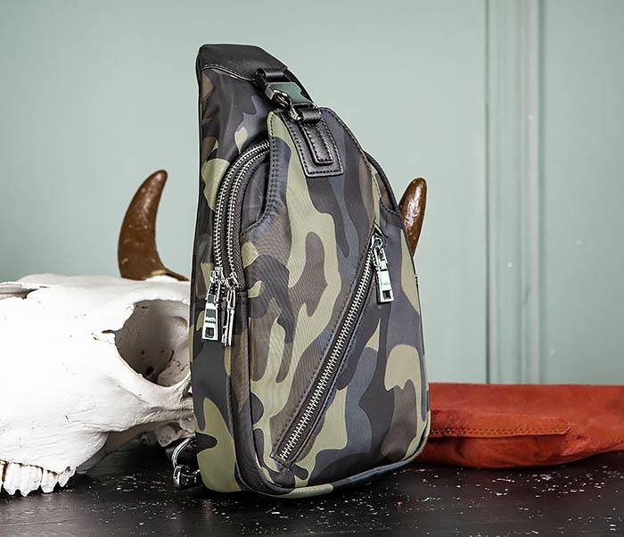 BAG488-3 Мужская сумка с одной лямкой через плечо фото 03