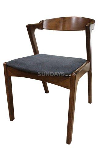 Обеденный стул Sundays HOME DARA RT644-CHR, каучуковое дерево