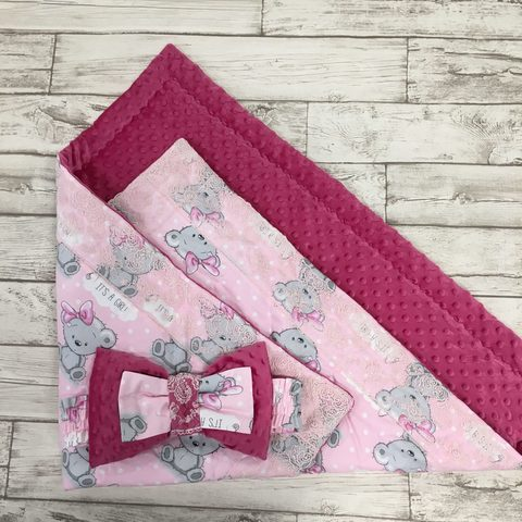 Одеяло-конверт на выписку для новорожденного 2пр.