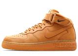 Женские Кроссовки Nike Air Force 1 MID '07 Begie