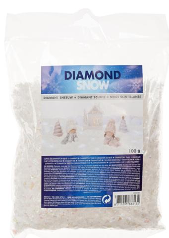 Снег искусственный (кристаллы), 100 г
