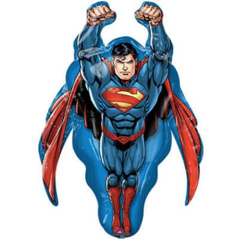 Фигура фольга Супермен в полёте