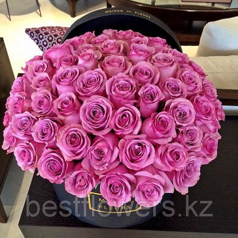Коробка Maison Des Fleurs с розами 19