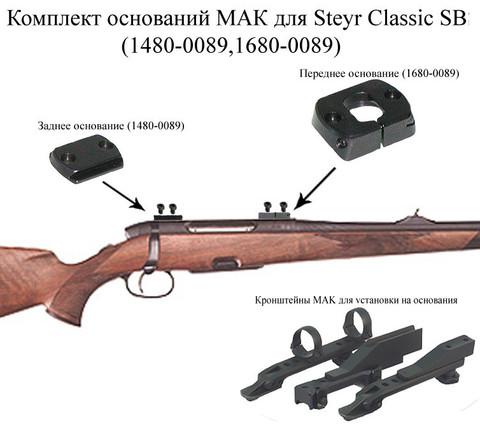 Основание МАК для Steyr Classic SBS(1480-0089,1680-0089)