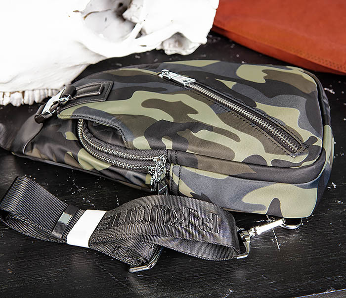 BAG488-3 Мужская сумка с одной лямкой через плечо фото 05