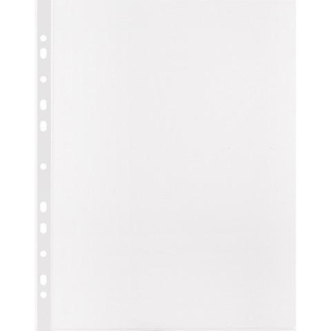 Файл-вкладыш Attache Economy А4 25 мкм прозрачный гладкий 100 штук в упаковке