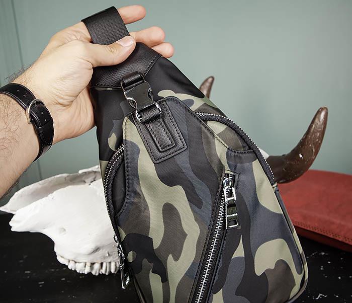 BAG488-3 Мужская сумка с одной лямкой через плечо фото 06