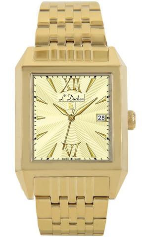 Купить Мужские швейцарские наручные часы L'Duchen D 431.20.14 по доступной цене